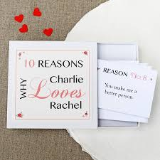 personalised love notes