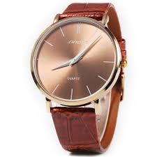 men quartz watch line dial leather band black in men s watches sinobi 9140 super slim business male quartz watch leather wristband analog dials