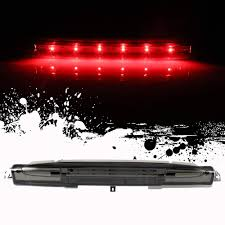 How To Change Third Brake Light On 2002 Chevy Avalanche Roadfar Third Brake Light Led 3rd Brake Light Rear Tail Brake Light Cargo Lamp Smoke Lens Chrome Housing Replacement Fit For 2002 2012 Chevrolet
