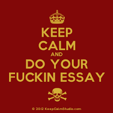keep calm and do your fuckin essay design on t shirt poster mug   crown keep calm and do your fuckin essay skull crossed bones