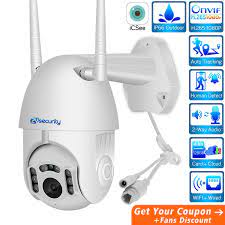 ZY HD 1080P Wifi Mini PTZ IP Kamera Outdoor Wireless Speed Dome CCTV  Sicherheit Kamera Onvif 2MP IR Home überwachung Kameras P2P Surveillance  Cameras