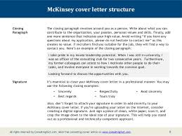 professional cover letter cover letter format mckinsey tips for advanced professional degree