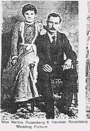 Nettie Mae Rosenberg (Bradley) (1882 - 1964) - Genealogy