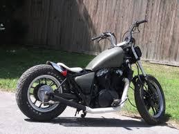 bobber honda vt 700 shadow bobber rat bike for sale 1500 00