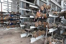 salvage yard organization