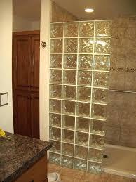 glass blocks for shower block warehouse palm city on wall modern 9