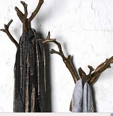 Branch Wall Coat Rack Inspiration Clothing Hooks Outstanding Tree Wall Hook Treewallhooktree