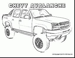 Small Picture Excellent chevy coloring pages with truck coloring pages amazing