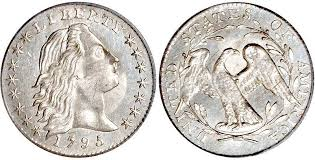 Flowing Hair Half Dime 1794 1795 Very High Grade Example