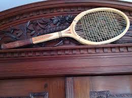 dunlop maxply international vintage wooden tennis racket 1970 s