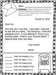 Letter Writing Format For Grade 3 Valid Format Informal Letter For ...