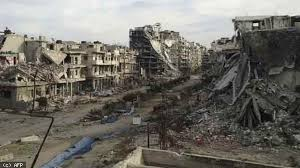 Image result for war torn syria