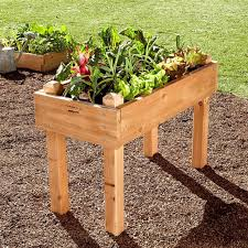 raised cedar planter box. With Raised Cedar Planter Box