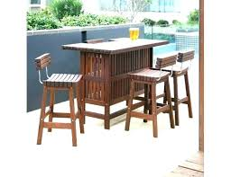 furniture sunset backless bar stool wood from leisure reviews outdoor care ipe table top