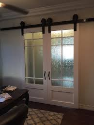 office glass sliding barn doors