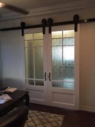 office glass sliding barn doors