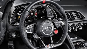 audi r8 interior. 2018 audi r8 v10 coupe edition sport interior steering wheel wallpaper