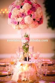 glass vase centerpiece clear trumpet glass wedding centerpiece and flower clear trumpet glass vase vase wedding