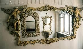 Fancy Mirror Frames Antique 8 Decorative Mirror Frame