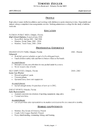 Free Resume Builder For High School Students Free Resume Builder For Students High School Resume Templates High 34