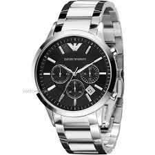"men s emporio armani chronograph watch ar2434 watch shop comâ""¢ mens emporio armani chronograph watch ar2434"