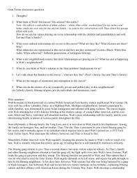 gran torino essay plan gran torino discussion questions