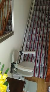 chair for stairs. These Stair Lifts Come With A 12 Months Warranty, All Reconditioned Stairlifts Have To Pass An Extensive 50 Point Check. We Install The Highest Standards Chair For Stairs