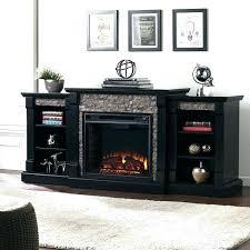chimney free electric fireplace media black previous mantel walnut menards chimn chimney free electric fireplace