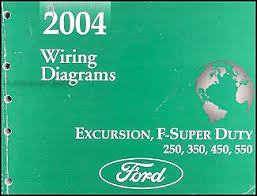 2004 ford excursion super duty f250 550 wiring diagram manual original 1997 ford super duty wiring diagram at F350 Super Duty Wiring Diagram