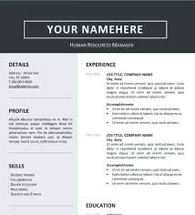 Resume Templates For Word 2013 Stunning Clean Resume Template Cv Word 28 Download Mysticskingdom
