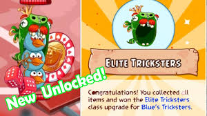 Angry Birds Epic: Blue Jay, Jake and Jim (Unlocked New Elite Tricksters  Helm) Epic Sports Tournament - YouTube