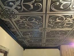 Tin Ceiling Tiles For Backsplash Exterior Simple Design Inspiration