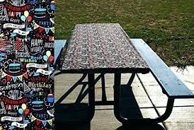 fitted table covers elastic picnic table covers with elastic birthday tablecloth black table cover fitted table fitted table covers