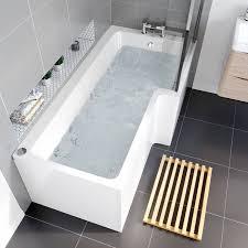 l shape whirlpool jacuzzi bath