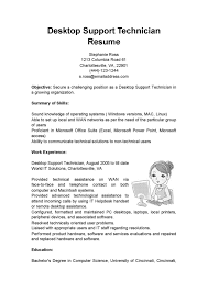 cover letter desktop support resume format desktop support engg cover letter desktop support engineer resume sample desktop docdesktop support resume format extra medium size