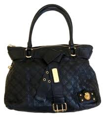 Marc Jacobs Alina Quilted Belt Tote Black Leather Shoulder Bag ... & Marc Jacobs Alina Quilted Belt Tote Black Leather Shoulder Bag - Tradesy Adamdwight.com