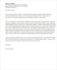 social service worker cover letter sample social work cover letter