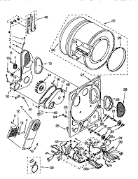 kenmore 70 series dryer parts. 110985751 washer/dryer dryer bulkhead parts diagram kenmore 70 series k
