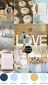 Blue and Gold Wedding Theme | Gold color palettes, Wedding and Gold