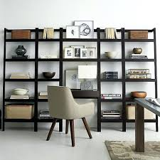 crate and barrel home office. Exellent Home Crate And Barrel Home Office Furniture Sawyer Mocha Leaning Bookcase    Intended Crate And Barrel Home Office L