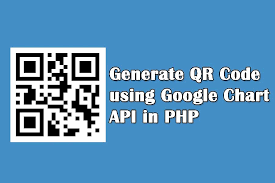 How To Generate Qr Code Using Google Chart Api In Php
