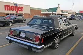 curbside classic 1985 ford crown victoria helloooooooo kitty
