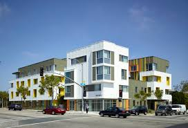 Vassar City Lights Affordable Housing Project 2802 Pico Housing Moore Ruble Yudell Archdaily