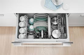 fisher and paykel dishdrawer. The Interior Of A 36-inch-wide Dishwasher Drawer. Photograph Courtesy Fisher And Paykel Dishdrawer
