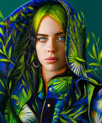ArtStation - Billie Eilish, Yaşar VURDEM