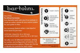 bartolini active 3 band bass pre amp allparts com pu 1275 000 bartolini active 3 band bass pre amp