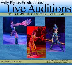 Willy Bietak Productions – LIVE AUDITIONS – Bietak Productions, Inc.