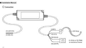 meanwell 12v 120w 0 10v dimmable ip67 led driver lighting matters 0-10v dimmer leviton at 0 10v Led Dimming Wiring Diagram