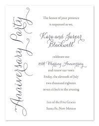 50th wedding anniversary invite wording inspiration of 25 wedding anniversary invitation cards