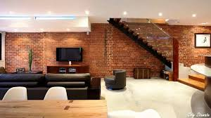 Small Picture Exposed Brick Walls into Interior Dcor YouTube